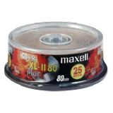 Maxell CD-R Audio 25 disc spindle 80 minute